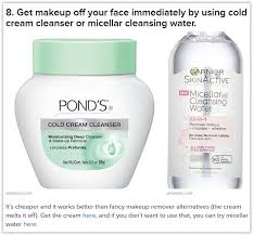pond 39 s cold cream cleanser for removing makeup get makeup off your face imately peter