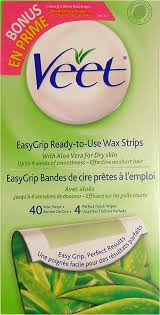 veet easygrip ready to use wax strips