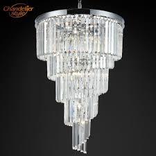 <b>Modern Crystal</b> Prism <b>Chandelier Lighting Luxury</b> Large Big Cristal ...