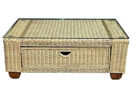 round wicker coffee tables end table furniture vintage palm beach trunk uk