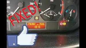 Bmw E46 Brake Warning Light Bmw E46 Abs Asc Handbrake Light On Fix Rear Abs Sensor Replacement