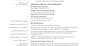 Cover Letter For Experienced Teachers High School Resume And