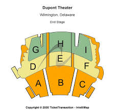 Dupont Theatre Seating Chart