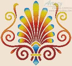 Art Deco Cross Stitch Charts Artecy Cross Stitch Art Deco Design Cross Stitch Pattern To