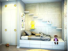 simple kids bedroom. simple bedroom decoration fun modern kids design with wood tone wall and white backdrop