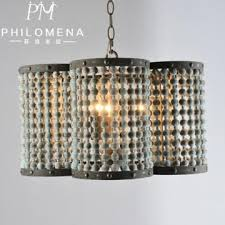 decorative european antique chandeliers wood beads pendant lamps