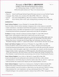 Sample Resume For Software Engineer With 2 Years Experience Sample Resume For Experienced Software Engineers Sample Resume For
