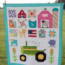 839 best Farm girl vintage quilt images on Pinterest | Frosting ... & Baby Farm Girl Quilt Adamdwight.com
