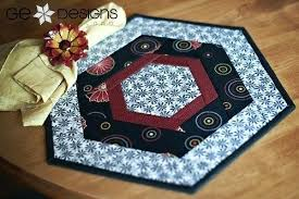 round table toppers round table topper patterns patterns in the book the hexagonal works great on round table toppers