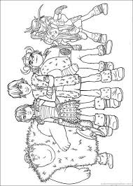 How To Train Your Dragon Coloring Pages 17 For The Kids