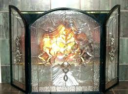 great stained glass fireplace screen c9733661 stained glass fireplace screen stained glass fireplace screen stained glass