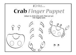 Crab Finger Puppet Ichild
