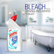 Harpic White and Shine Bleach, 500 ml: Amazon.in: Health ...