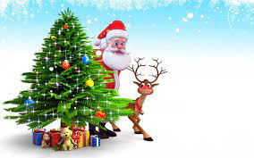 3D HD Christmas Wallpapers - Top Free ...