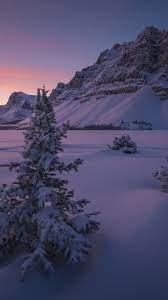 Night Snow Wallpaper Hd