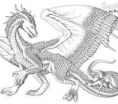 Free Printable Dragon Coloring Pages For Adults Free Printable