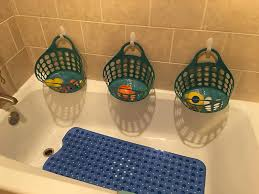 diy bathtub toy storage ideas