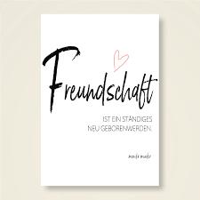 Grusskarten Set Freundschaft Monika Minder