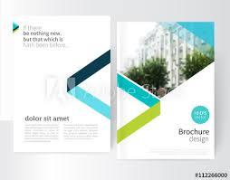 White Brochure White Brochure Leaflet Flyer Cover Template Modern Geometric