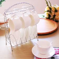 Decorative Cups And Saucers High quality JapanStyle white ceramic porcelain decorative tea 50