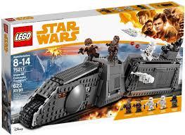 Đồ Chơi LEGO Star Wars 75217 - Đội Xe Bọc Thép của quân Đế Chế (LEGO  Imperial Conveyex Transport)