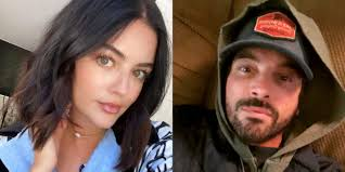 Lucy Hale and Skeet Ulrich Were Seen Kissing While Out to Lunch