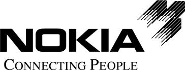 nokia logo white. nokia logo white k