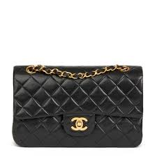 Chanel Classic Double Flap Bag Small Second Hand Chanel Classic