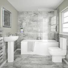 contemporary bathroom ideas on a budget. Modren Contemporary Cruze Modern Short Projection Toilet  Soft Close Seat  C600WC  10 Small  Bathroom Ideas On Contemporary A Budget O