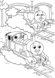 Free Thomas The Train Coloring Pages To Print Tank Engine Pixels ...