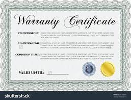 warranty template word template warranty template