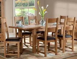 branches of bristol somerset oak 1200 table 6 chairs