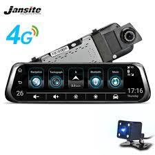 2019 <b>Jansite 4G</b> WIFI Smart Car DVR <b>10 Touch</b> Screen Android ...