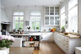 Interior:Rustic Old Scandinavian Kitchen Design With White Cabinet And  Marble Countertop Ideas Scandinavian Country