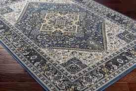 artistic weavers roosevelt roo 6208 wheeler royal blue light yellow rug