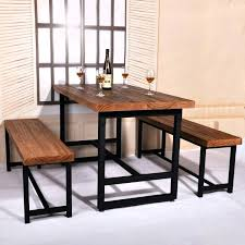 dining table and chair set country wood dining table domestic iron cafe tables and chairs set dining table and chair set