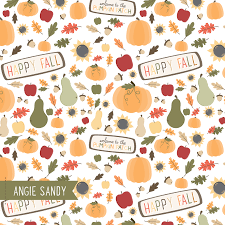 Fall Patterns New 48 Pattern Happy Fall Angie Sandy Art Licensing Design