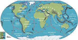 world plate boundaries map  timekeeperwatches