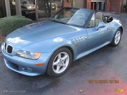 1997 z3 28 roadster atlanta blue metallic beige photo 1 atlanta blue metallic 1996