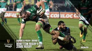 Guinness PRO14 Round 12 Highlights: Benetton Rugby v Zebre Rugby - YouTube