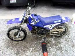 yamaha 80cc dirt bike. yamaha 80cc dirtbike walk around and start up dirt bike youtube