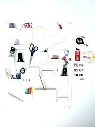 best of wall mounted desk organizer