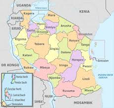 regions of tanzania  wikipedia