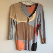 Nic Zoe Tan Nic Zoe Circles Belted Cardigan Size 4 S 61 Off Retail