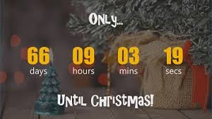 Countdown To Christmas In Powerpoint Presentationpoint