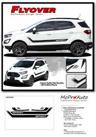 Flyout Ford Ecosport Lower Door Decal And Hood Stripe
