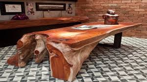 Unusual Wooden Tables Design -Interesting Furniture Ideas