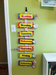 Days Of The Week Chart For Toddlers Days Of The Week Chart For Toddlers Google Search Kids