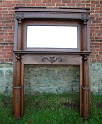 antique fireplace mantel more