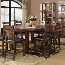 chambers creek wood gathering table in brown